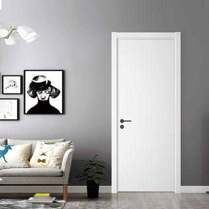 免漆门室内门房门环保木门 单门扇